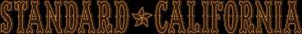STANDARD CALIFORNIA ロゴ