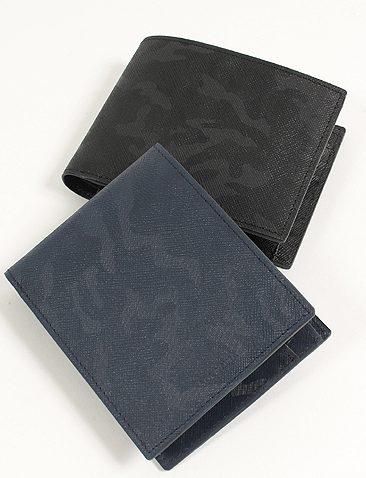 SOLATINA カモフラ二つ折り財布