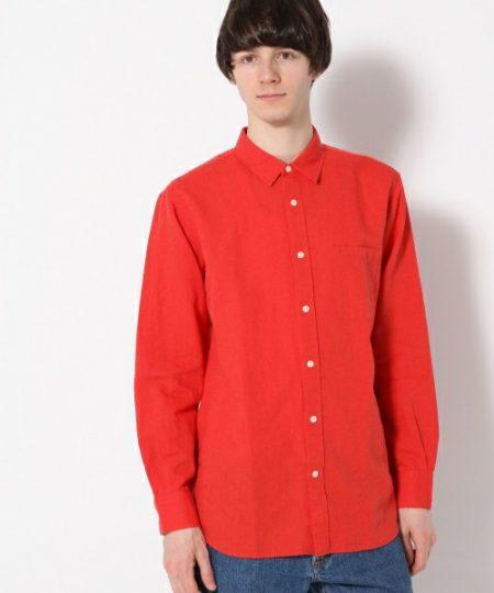 赤 シャツ GLOBAL WORK