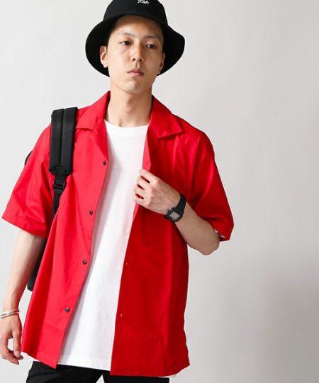 赤 シャツ WE GO