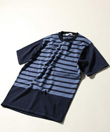パネルボーダー Tシャツ EDFICE