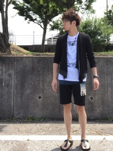 LHPTシャツ コーデ