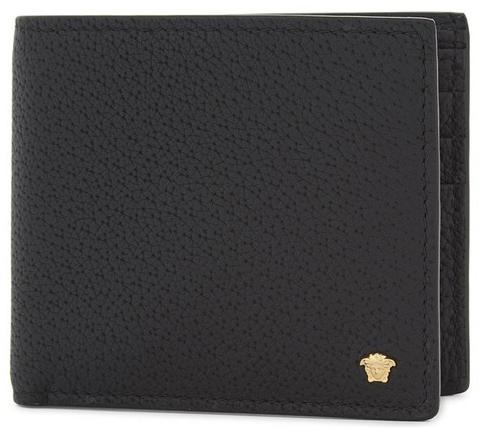 medusa leather billfold wallet versace