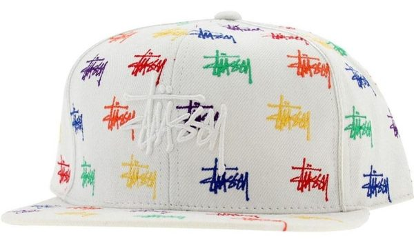 Rainbow Stock Fitted Cap