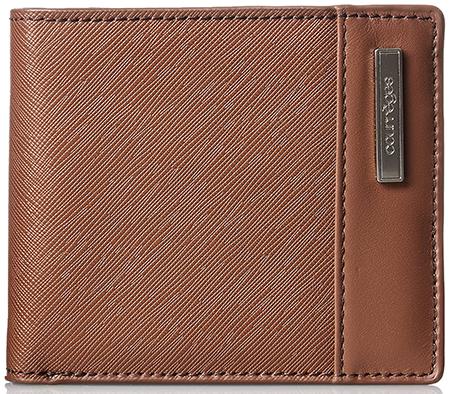 本牛革製 型押しレザー カードポケット多めタイプ Courreges