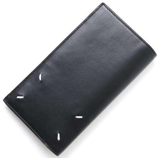 ステッチ入り長財布