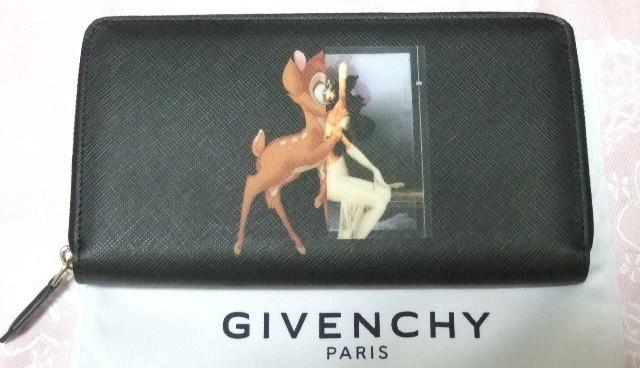 バンビ長財布