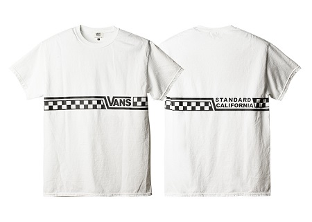 VANS × SD CHECKER LOGO T