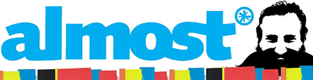 オールモースト ロゴ
