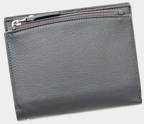 レザー二つ折り財布