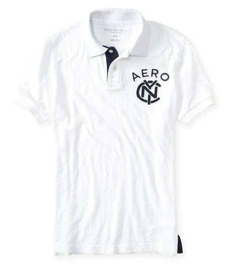 NYC Linked Logo Jersey Polo