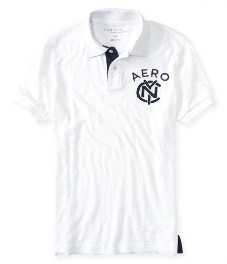 NYC Linked Logo Jersey Polo