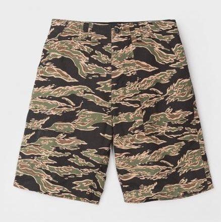 Seersucker Military Short