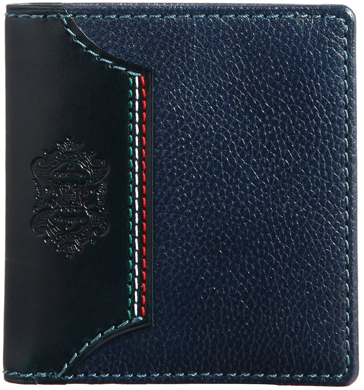 L`unique札入れ二つ折り財布