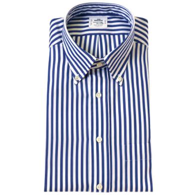 鎌倉シャツ ストライプシャツ