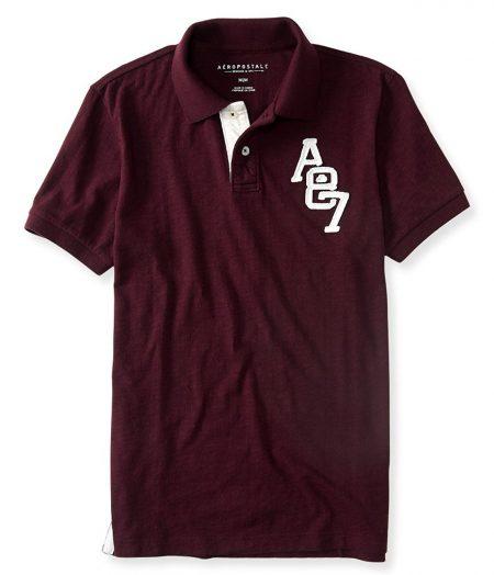 A87 Logo Jersey Polo