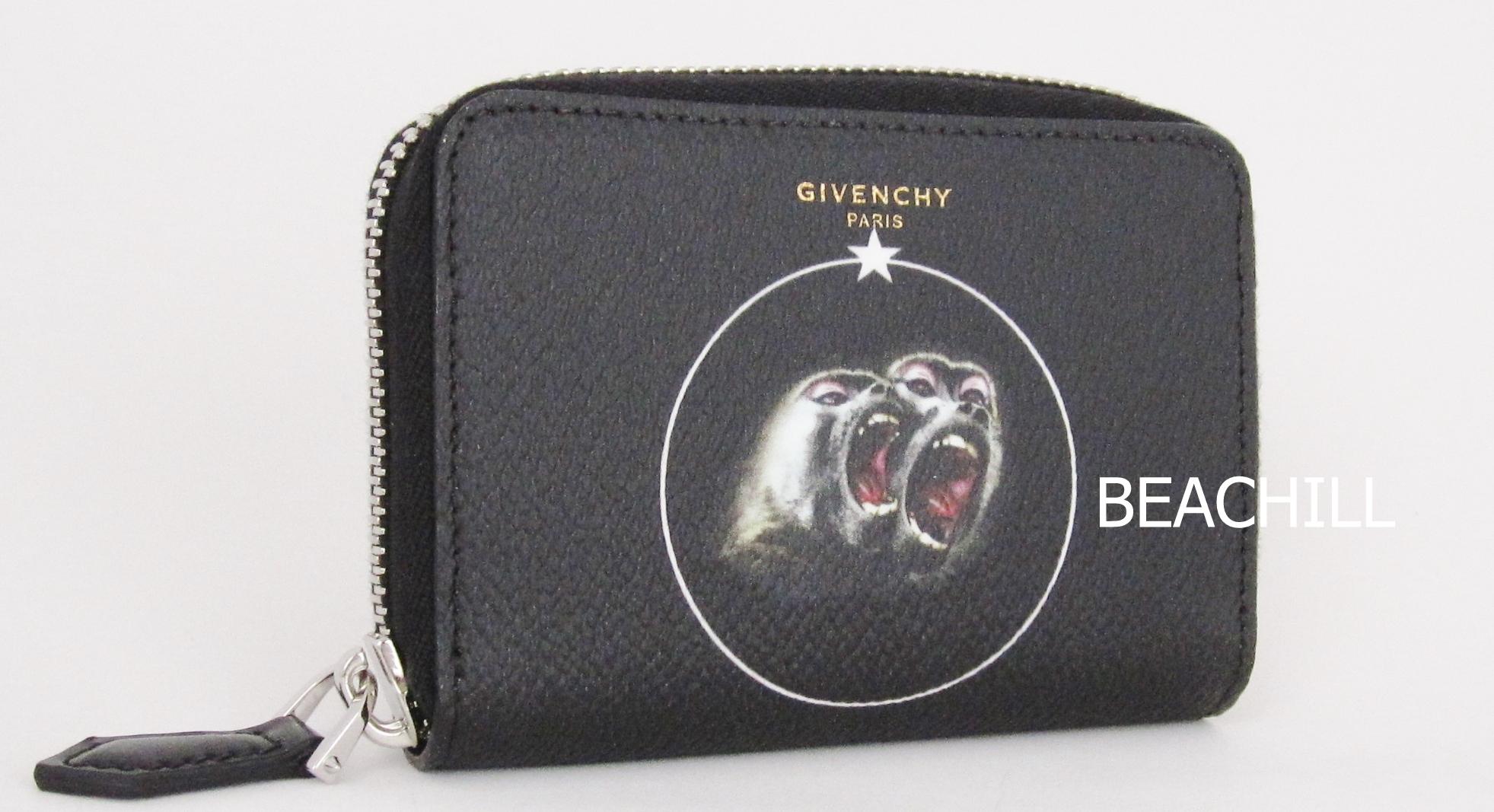MONKEYプリントミニ財布