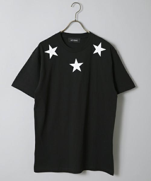 スリースターTシャツ