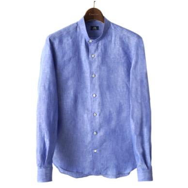 鎌倉シャツ グラデラベンダーシャツ