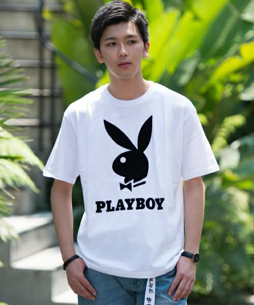 PLAYBOY TEE(ホワイト)