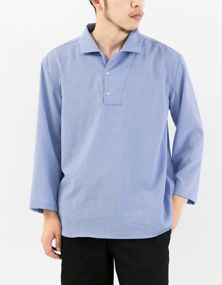 DRY VOILE SKIPPER SHIRTS/URBAN RESEARCH