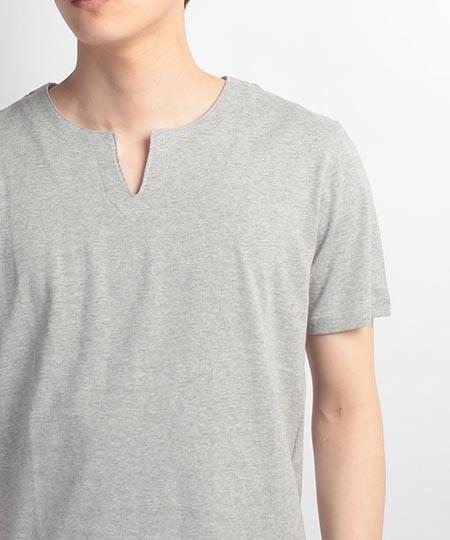 OUTDOOR キーネックシャツ
