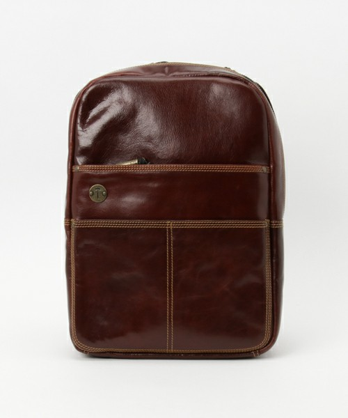 THE HOLSTER LEATHER BACKPACK