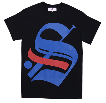 "CHAPTER × STADIUM - BIG ""S"" LOGO T-SHIRT"