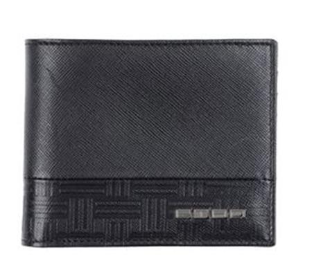 カーフレザー二つ折り財布