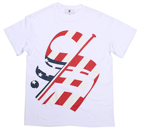 "STADIUM - BIG ""S"" FLAG T-SHIRT"