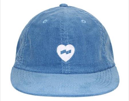 HEART HAT スナップバックキャップ ロゴ ハート