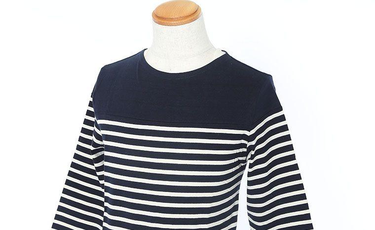 パネルボーダー Tシャツ