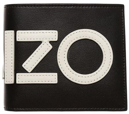 ロゴマーク二つ折り財布