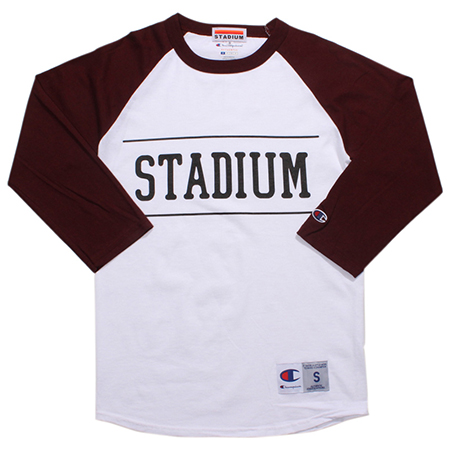 STADIUM 3/4 SLEEVE RAGLAN T-SHIRT