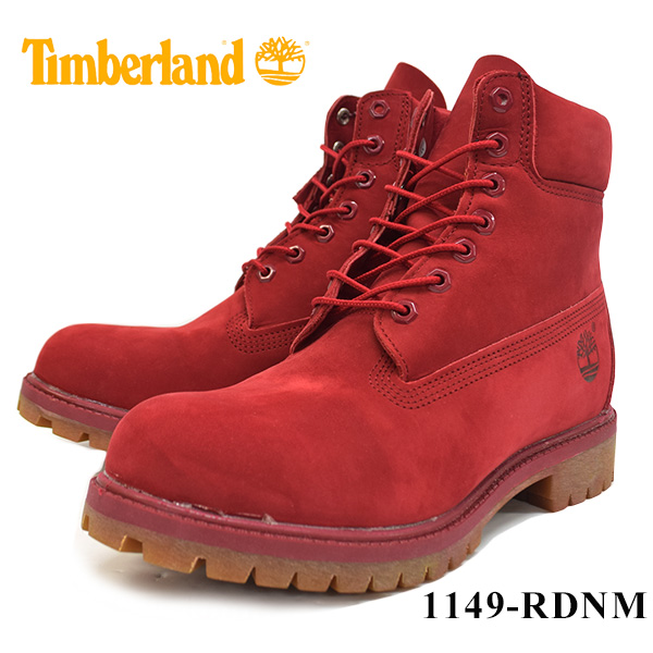 6INCH BASIC BOOT(RED)