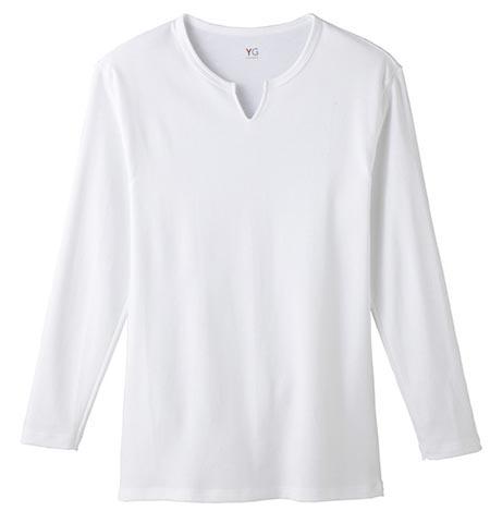 グンゼ キーネックシャツ