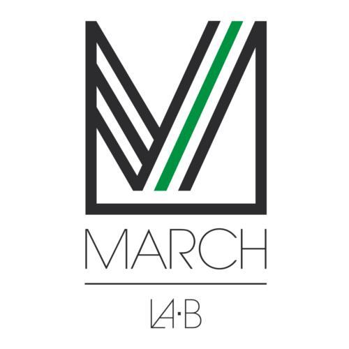 MARCH LA.B ロゴ