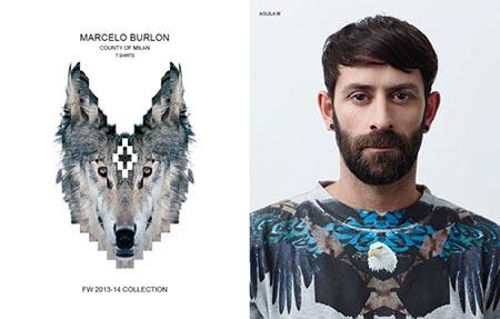 Marcelo Burlon ロゴ