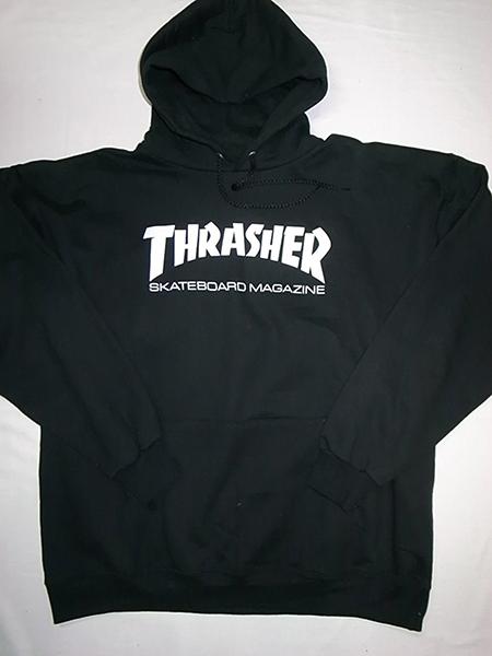 THRASHER ロゴパーカー
