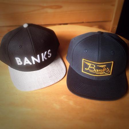 BANKS キャップ