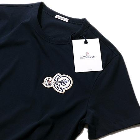 エンブレム付きTシャツ