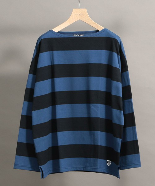 <ORCIVAL> WIDE BOAT LONG SLEEVE TEE/カットソー