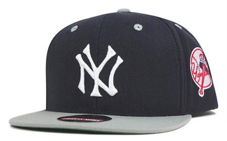ニューヨークヤンキース スナップバックキャップ