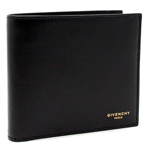 二つ折り財布ブラック