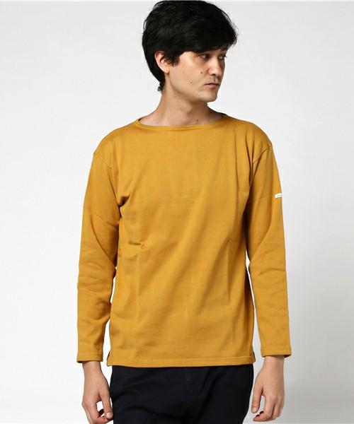 コーマ天竺ボーダーロングスリーブTシャツ#