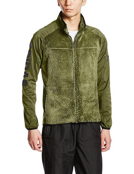 トレーニングウェア レイヤリング シンセティックヒート フリースジャケット