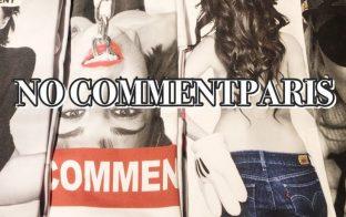 NO COMMENT PARIS  Tシャツ