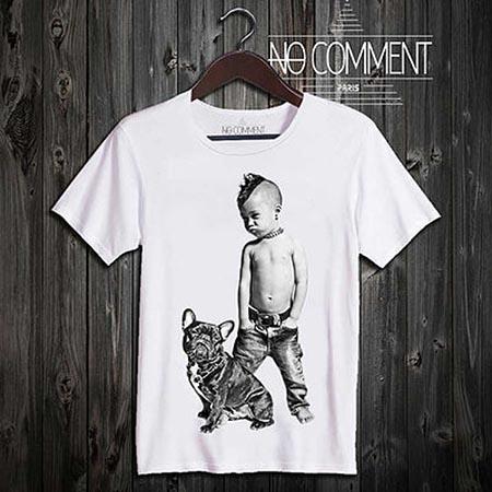 Kids Print T Shirt