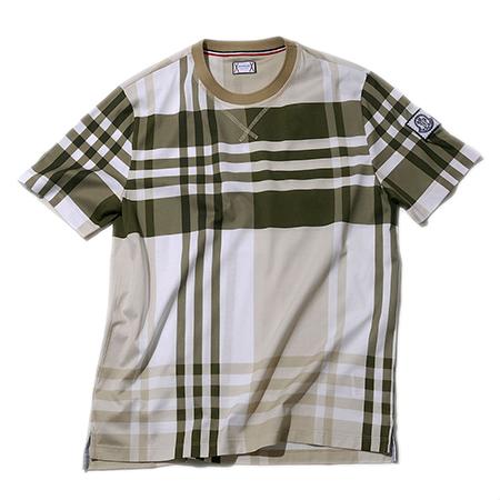 チェックTシャツ