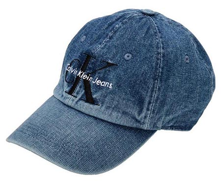 CALVIN KLEIN/BASEBALL HAT